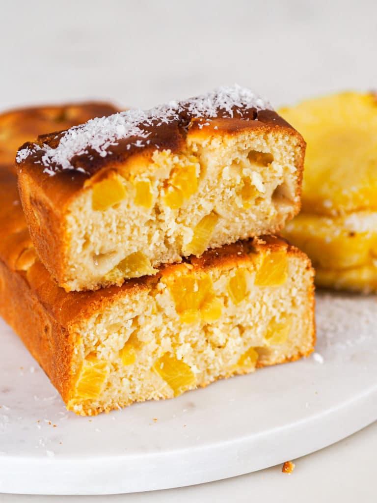 cake ananas coco