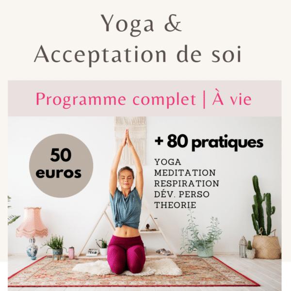 yoga et acceptation de soi