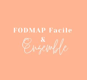 PACK FODMAP Facile & Ensemble